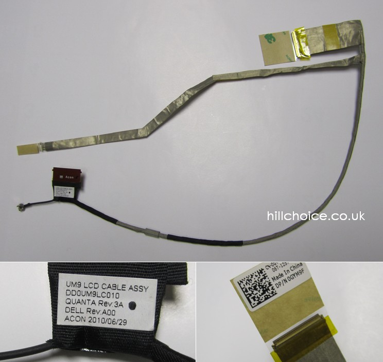 Inspiron 17R N7010 LCD Cable DD0UM9LC010
