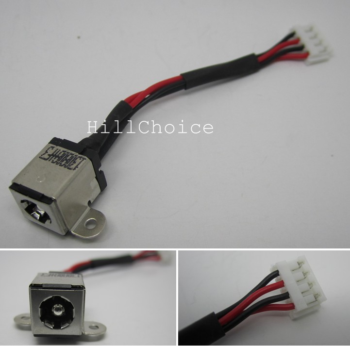 Original Dc Power Jack in cable harness for Toshiba satellite L855D L850-12P