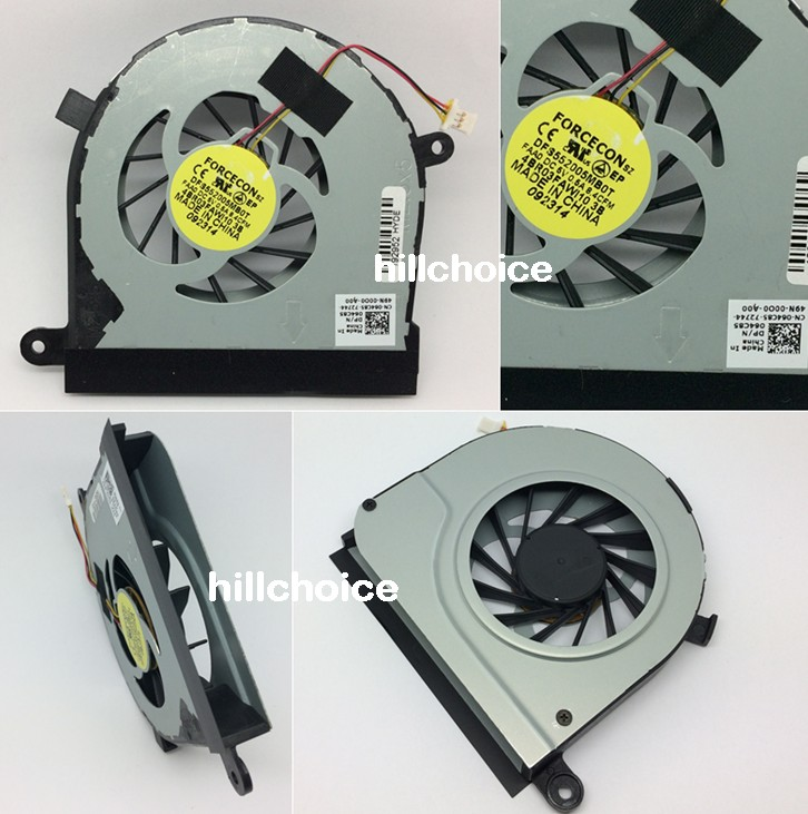 Nuevo Ventilador CPU para Dell Inspiron 17R N7010 Portátil 3