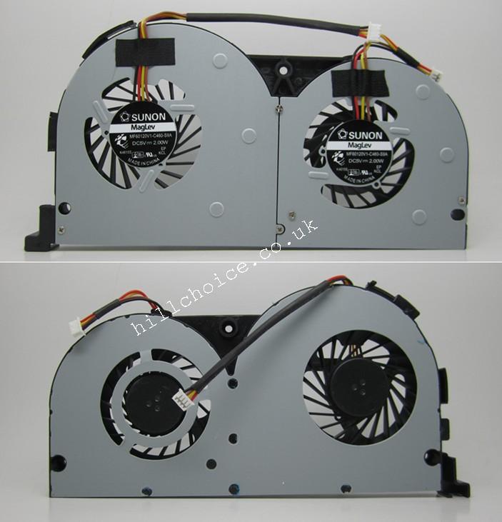 for Lenovo Y50 Y50-70AS Y50-70A Y50-70  laptop cpu fan cooler EG60070S1-C060-S99