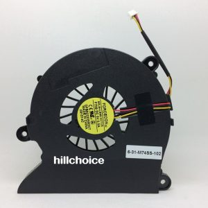 Original New CPU Cooling Fan For Clevo M760 S410 Laptop DFB602205M30T -F7N9 6-31-M74SS-102